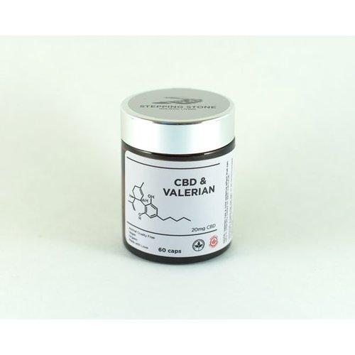 Hemp CBD & Valerian Root, 60 Capsules