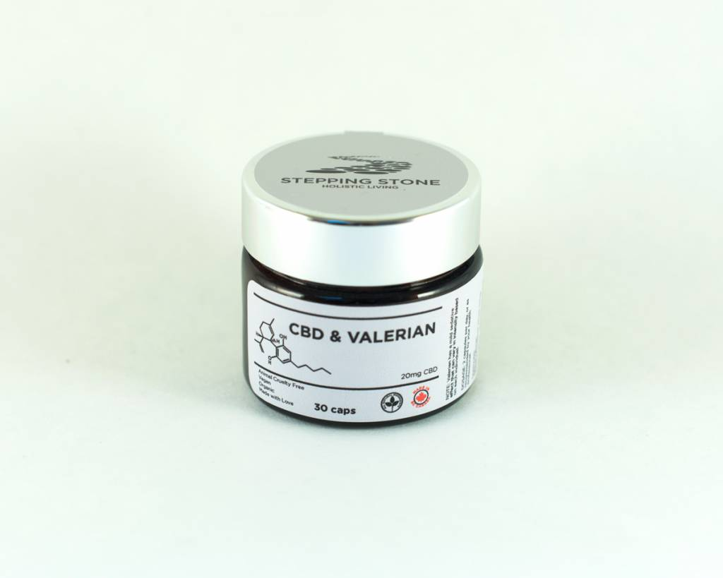 Hemp CBD & Valerian Root, 30 capsules