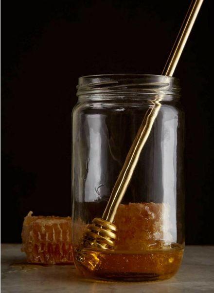 Sir/Madam Brass Honey Dipper
