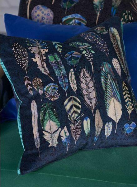 Designers Guild Quill Cobalt Pillow