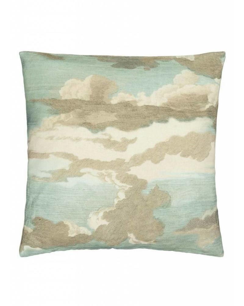 John Derian for DG Dragonfly Over Clouds Pillow