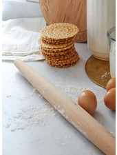 Sir/Madam Wooden French Rolling Pin