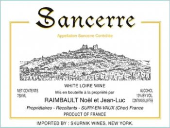 Jean Luc Raimbault  Sancerre