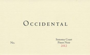 Occidental Sonoma Coast Pinot Noir 2014