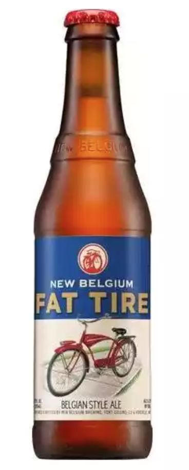 New Belgium Fat Tire (6pack 12oz bottles)