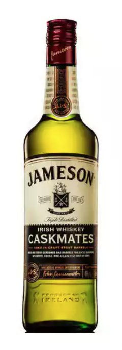 Jameson Caskmates 750ml