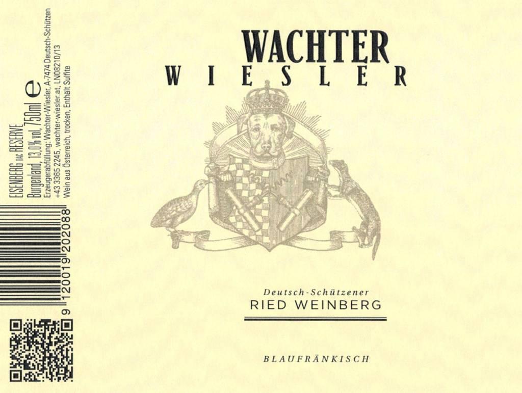 Wachter Ried Weinberg Blaufrankisch Reserve