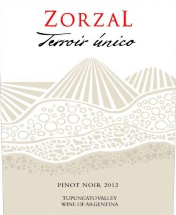Zorzal Unico Pinot Noir