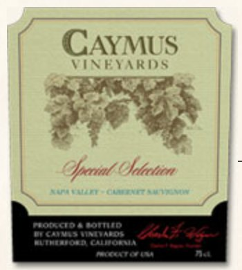 Caymus Special Select 2014