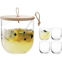 LSA - IVALO Punch Bowl Set & Ash Lid