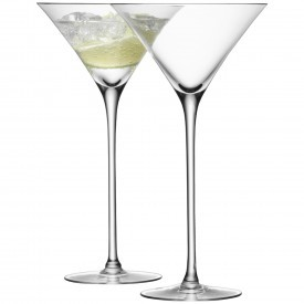LSA - BAR 2 Martini Glasses
