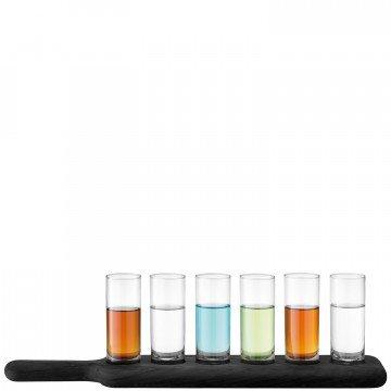 LSA - PADDLE Vodka Set & Black Paddle