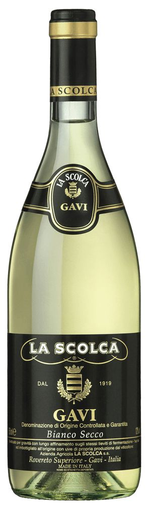 La Scolca Gavi Black Label 2015 (half/full case)