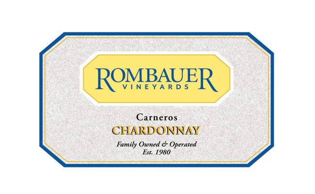 Rombauer Chardonnay 2016 (half/full case)