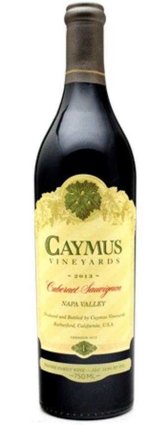 Caymus Cabernet 2015 (half/full case)