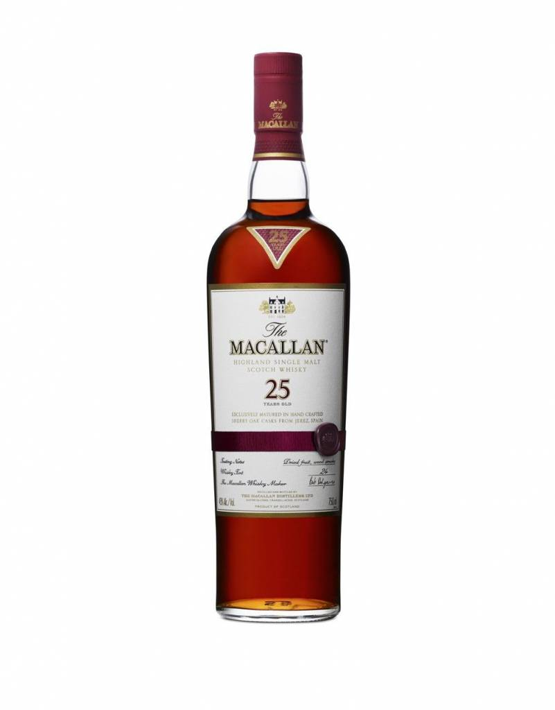 Macallan 25 Year Sherry Oak