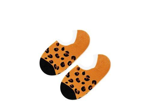 Hansel From Basel Leopard Liner Socks