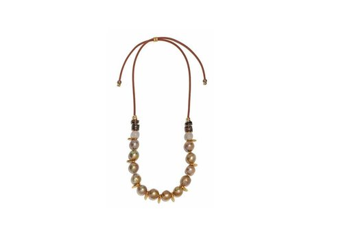 Lizzie Fortunato Pippa Pearl Necklace