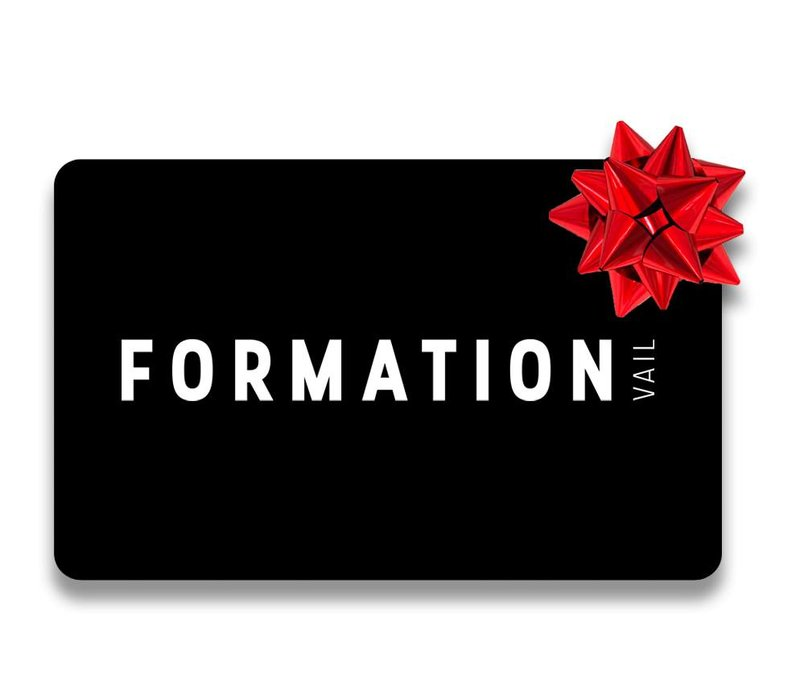 Formation Boutique $3000 Gift Card