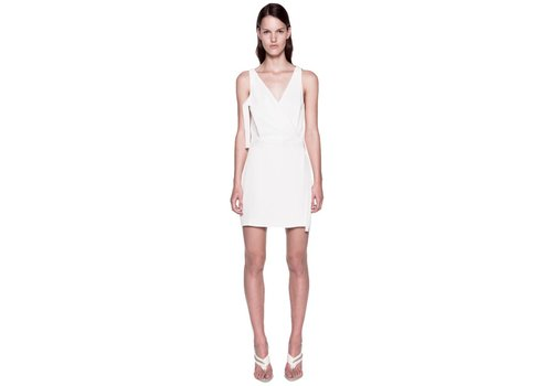 Dion Lee Whitewash Utility Mini Dress
