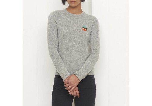 Bella Freud Lion Emblem Jumper