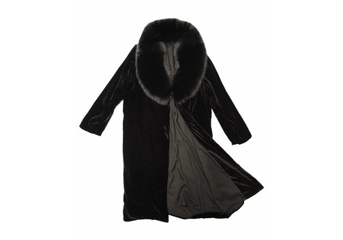 The Perfext Penelope Fur and Velvet Coat