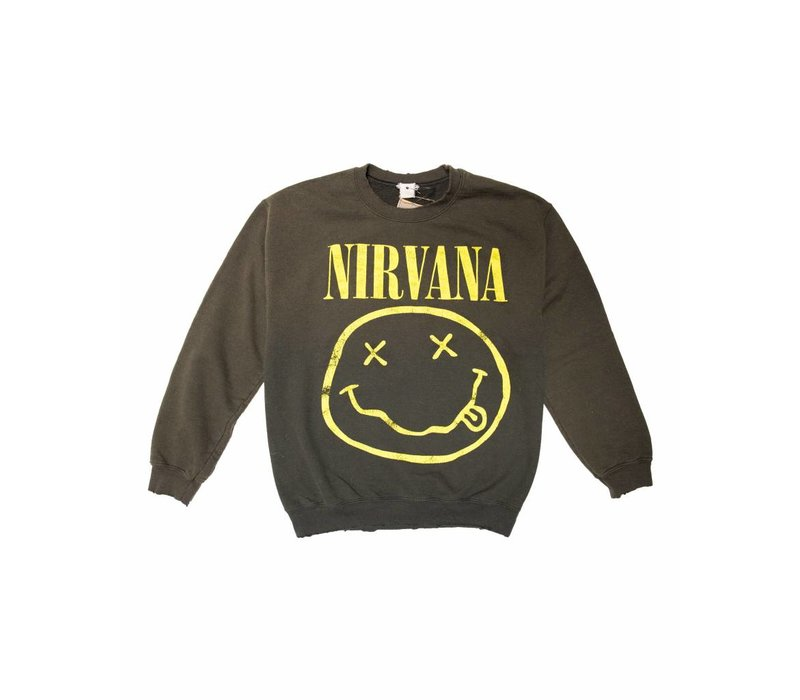 MadeWorn Nirvana Crew Fleece