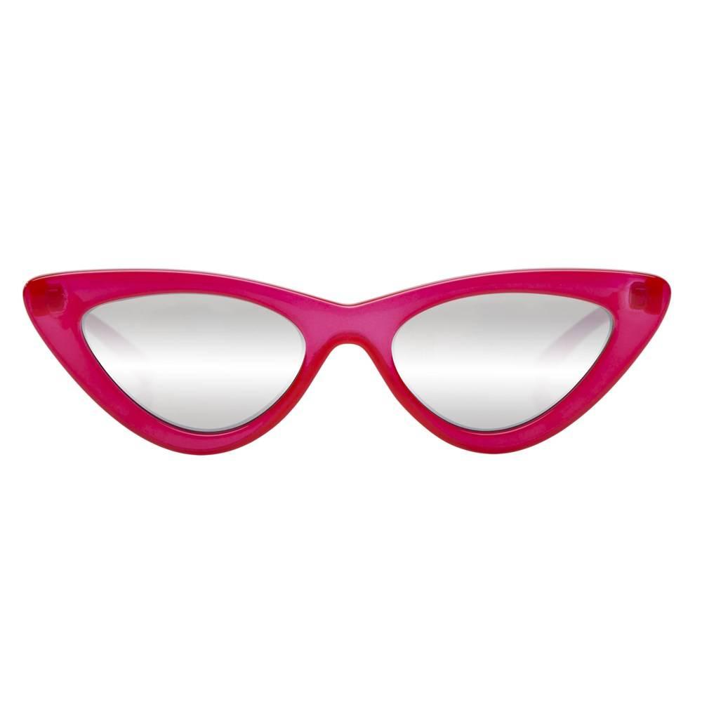 Le Specs x Adam Selman The Last Lolita sunglasses - Pink & Purple Le Specs jdE3T