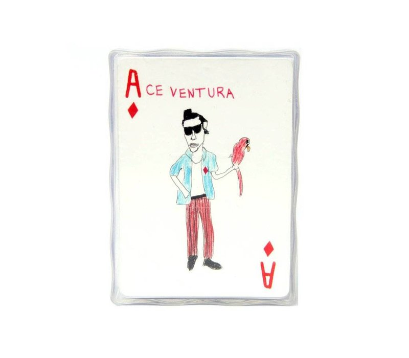 Unfortunate Portraits Deck of Playing Cards