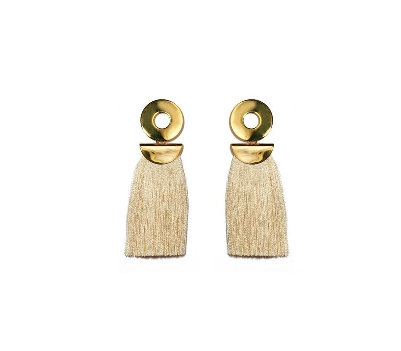 Lizzie Fortunato Go-Go Crater Earrings