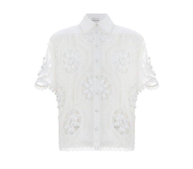 Zimmermann Breeze Doily Shirt