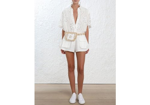Zimmermann Breeze Doily Shirt