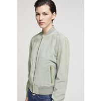 Closed Lelo Suede Bomber Jacket