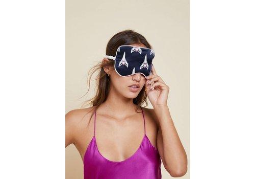 Olivia von Halle Rocky Silk Eye Mask