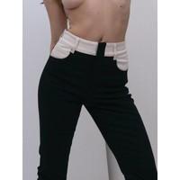 Wendelborn Combo Crop Flare Jeans