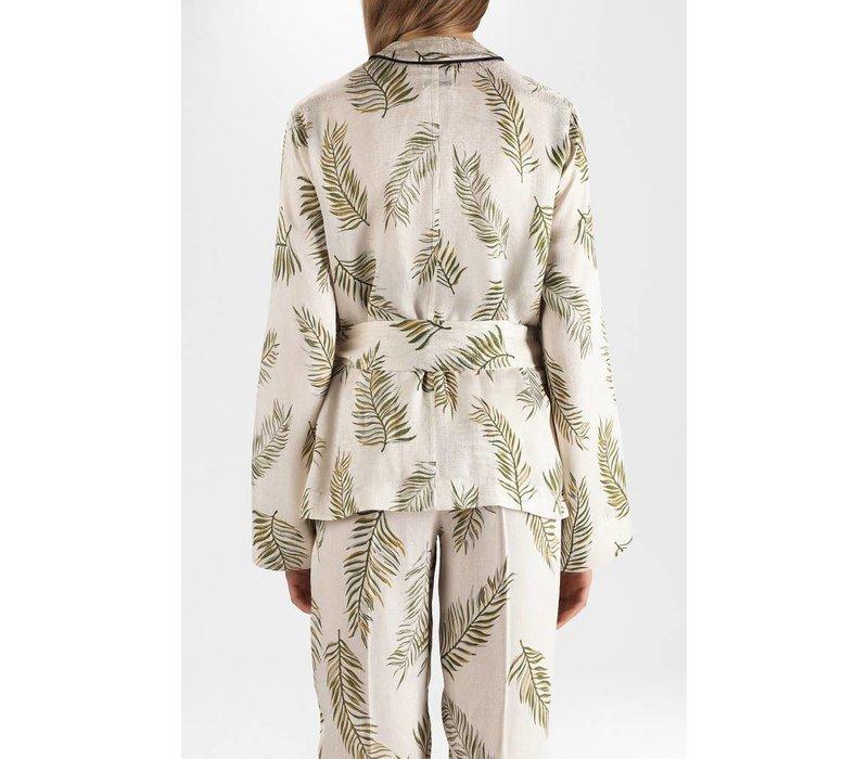 Forte Forte Leafprint Satin Jacket
