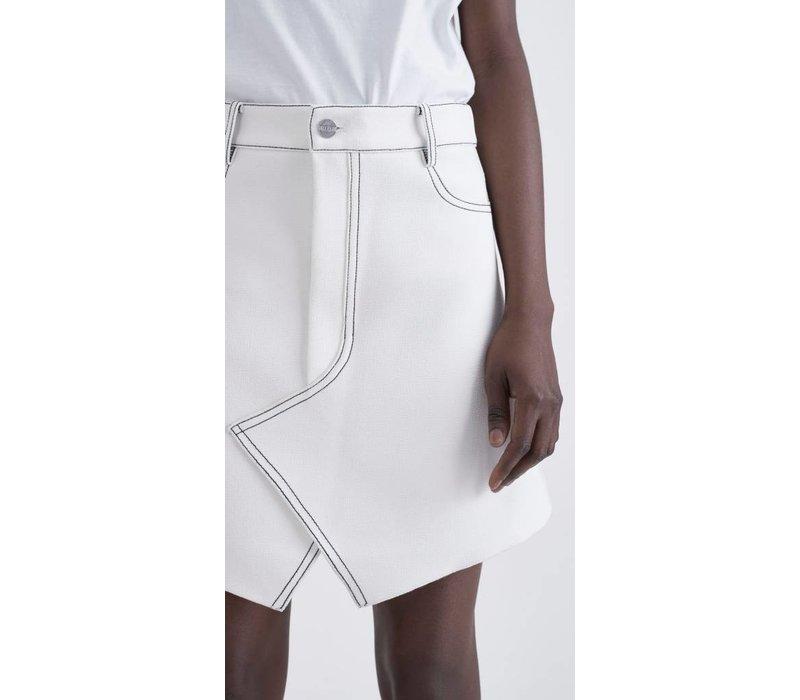 Dion Lee Shadow Stitch Mini Skirt