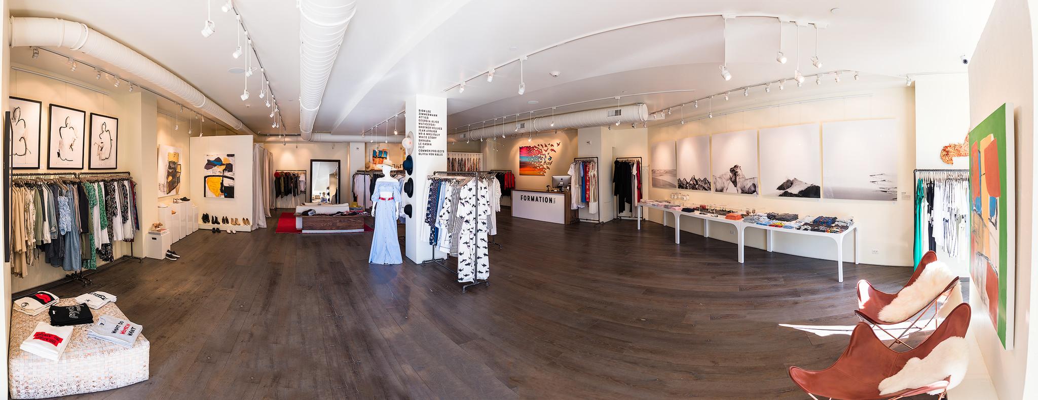 Inside Formation Boutique