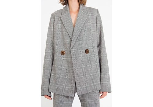 Georgia Alice Memory Check Blazer