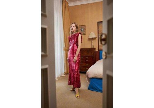 Attico Tulle Sequins Dress
