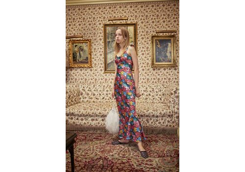 Attico Floral Slip Dress