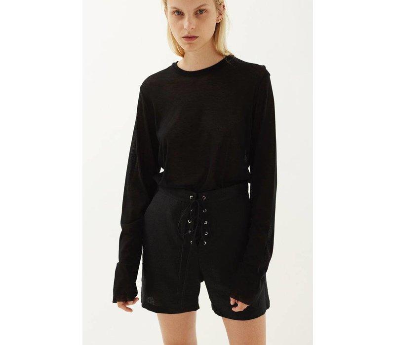 Matin Lace Up Shorts