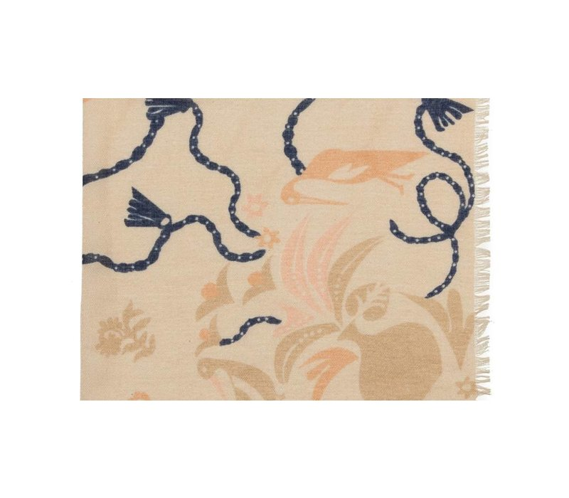 Lizzie Fortunato Bird and Vases Scarf