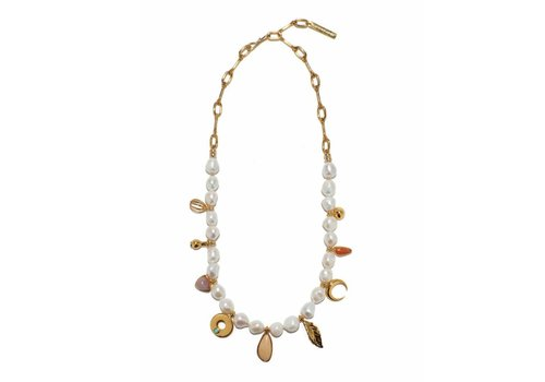 Lizzie Fortunato High Summer Charm Necklace