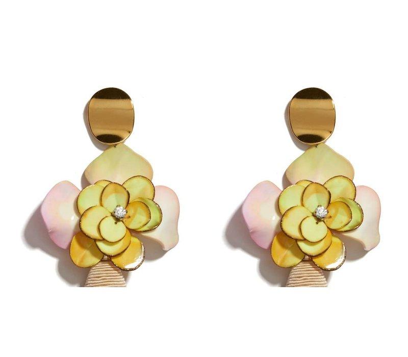 Lizzie Fortunato Magnolia Drop Earrings