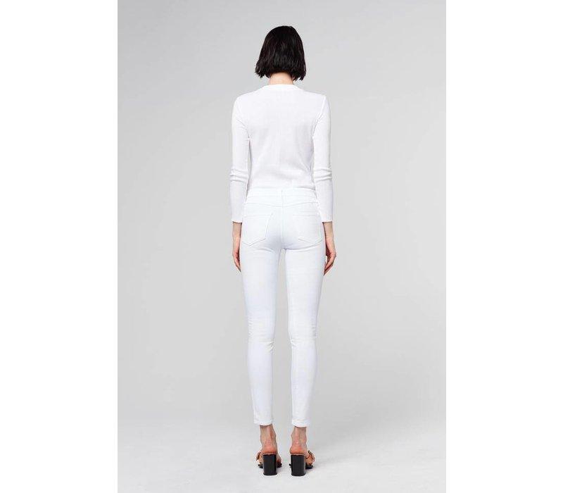 3x1 Channel Seam High-Rise Skinny Jean