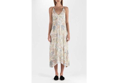 Forte Forte Florabunda Devore Velvet Slip Dress