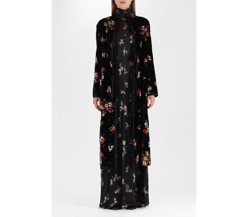 Forte Forte Highlands Flowers Satin Dress