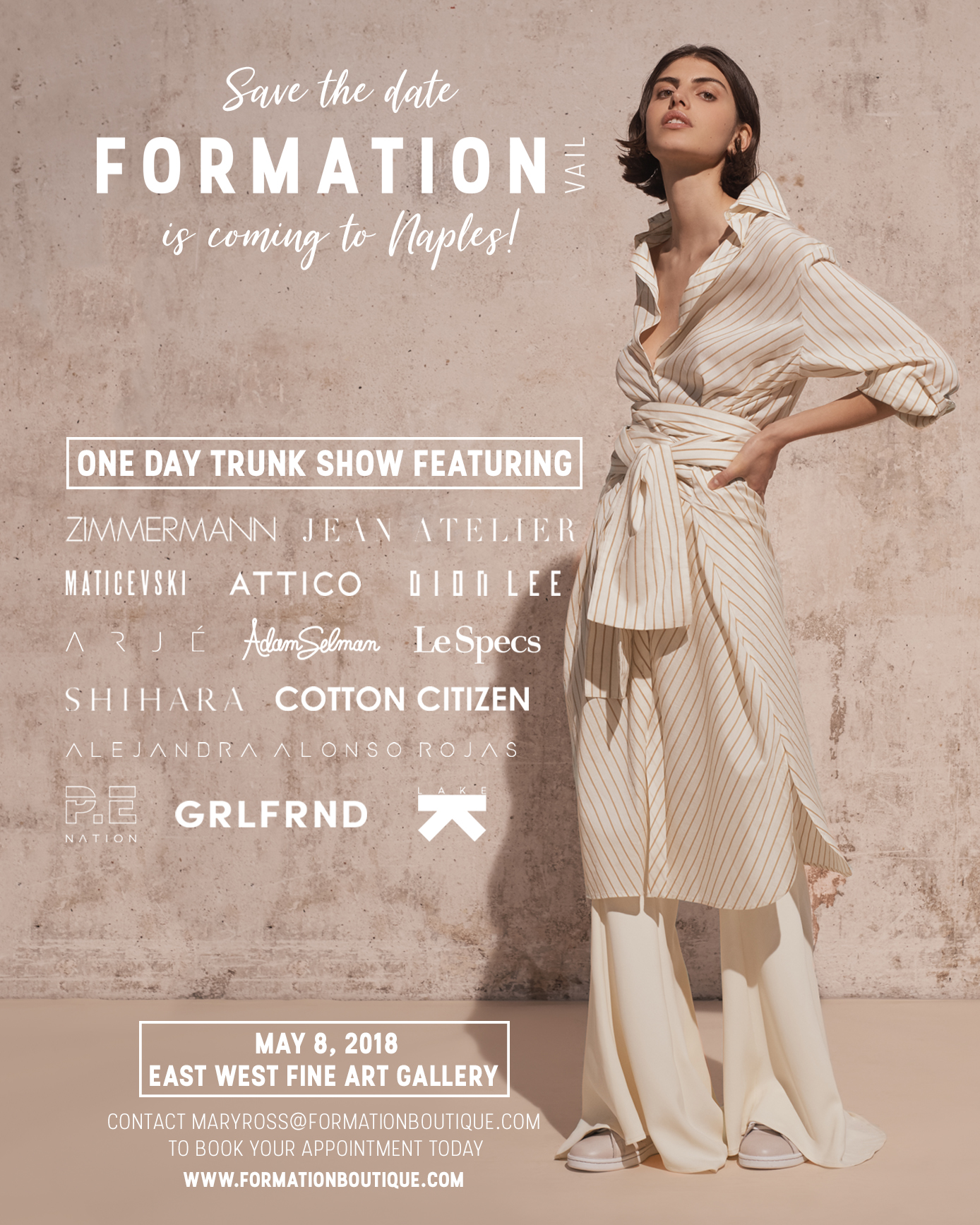 Formation Boutique Naples Trunk Show