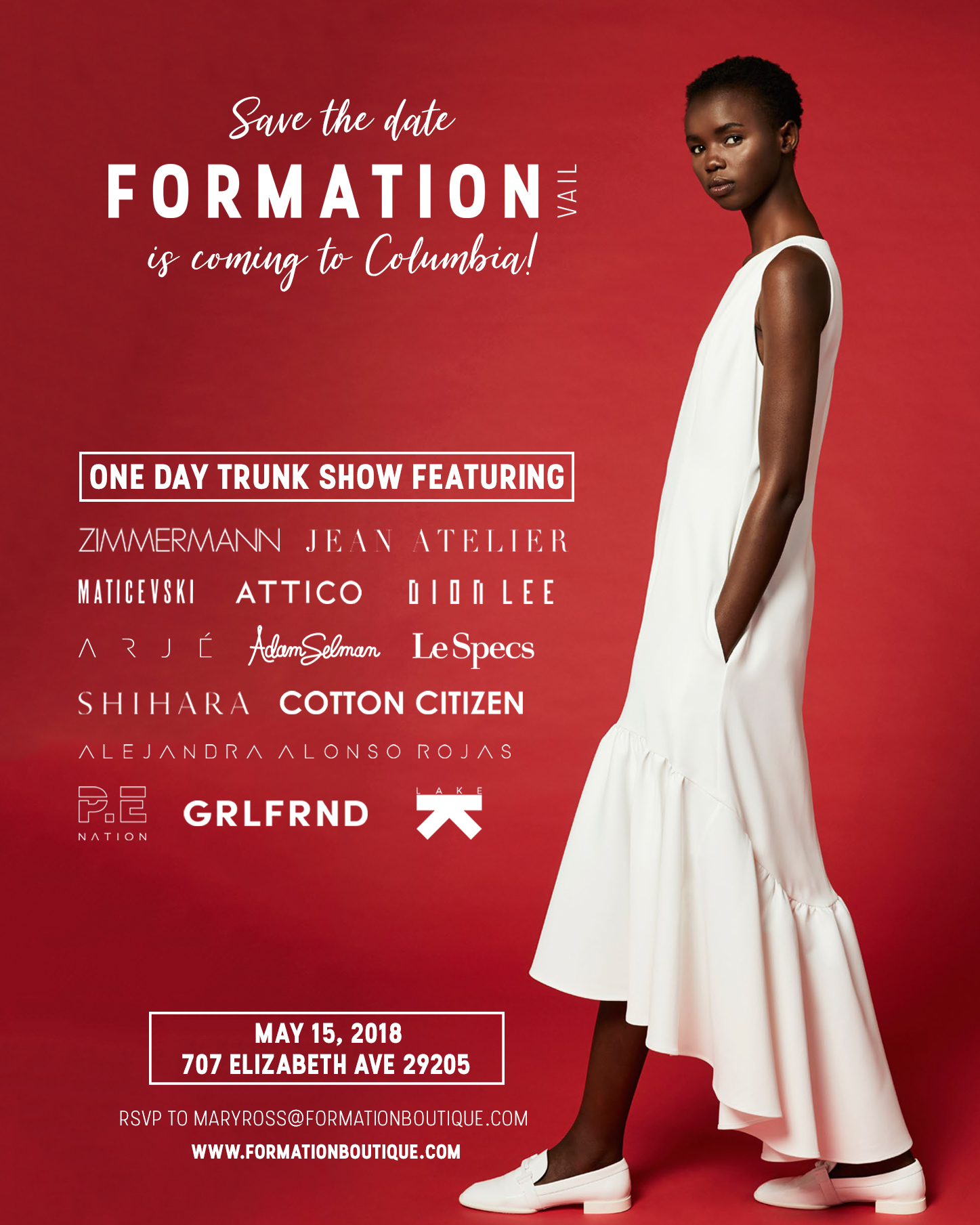 Formation Boutique Columbia Trunk Show